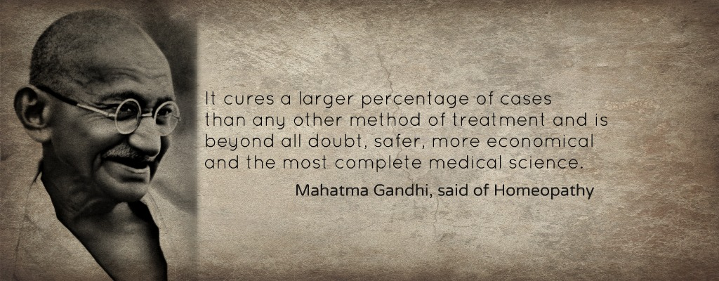 Gandhi-on-homeopathy